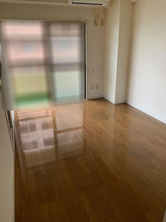 家財整理後の室内