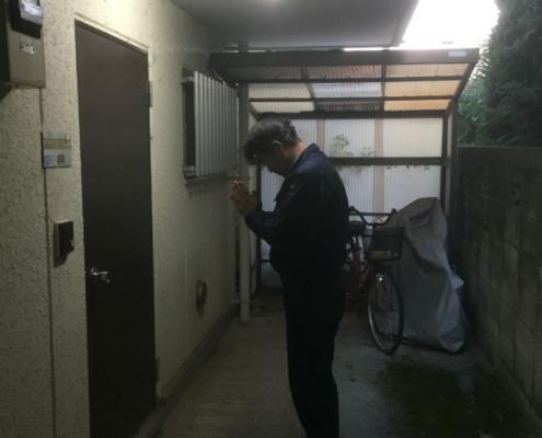 小山市特殊清掃入室時
