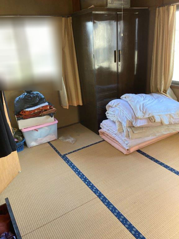 2階和室の片付け前