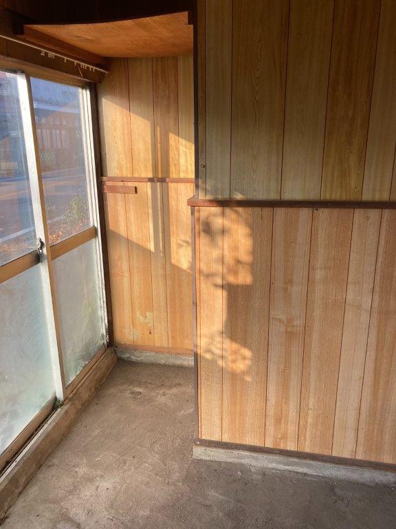 玄関土間の片付け後