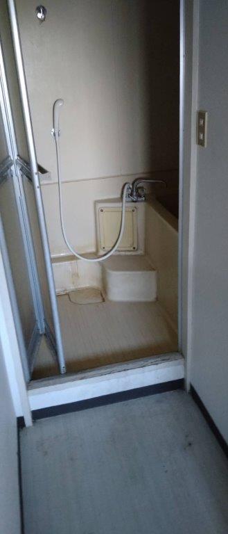 浴室・洗面所の片付け前