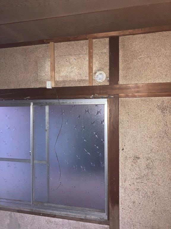2階の和室の片付け後