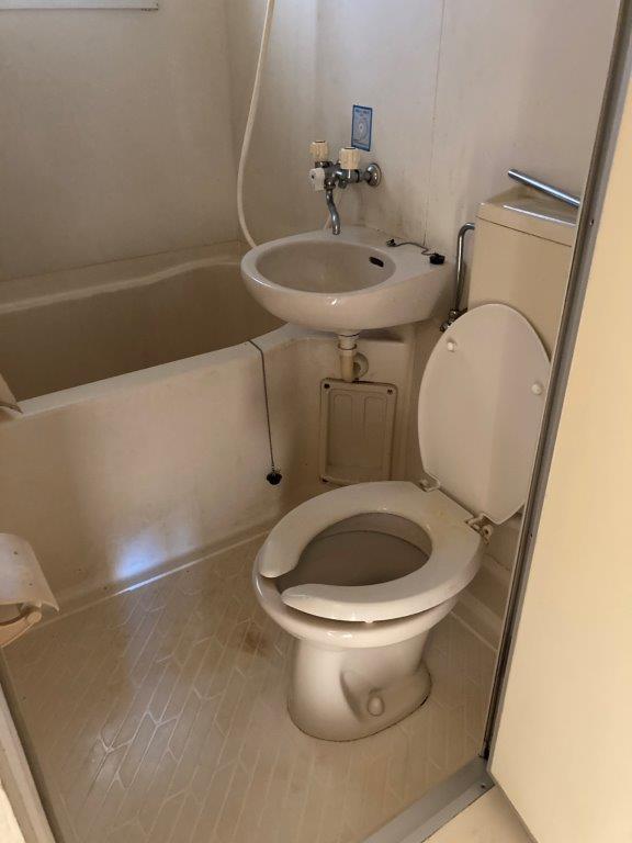 浴室・トイレの片付け・清掃後