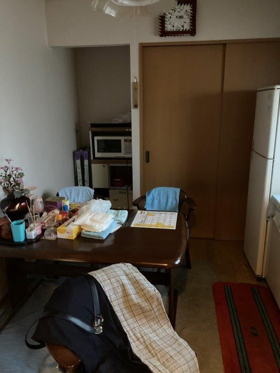 キッチン・その他の部屋の片付け前
