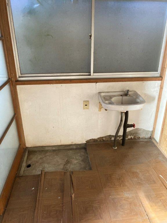 洗面スペースの片付け後