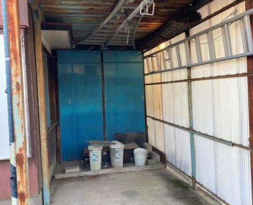 倉庫の片付け後