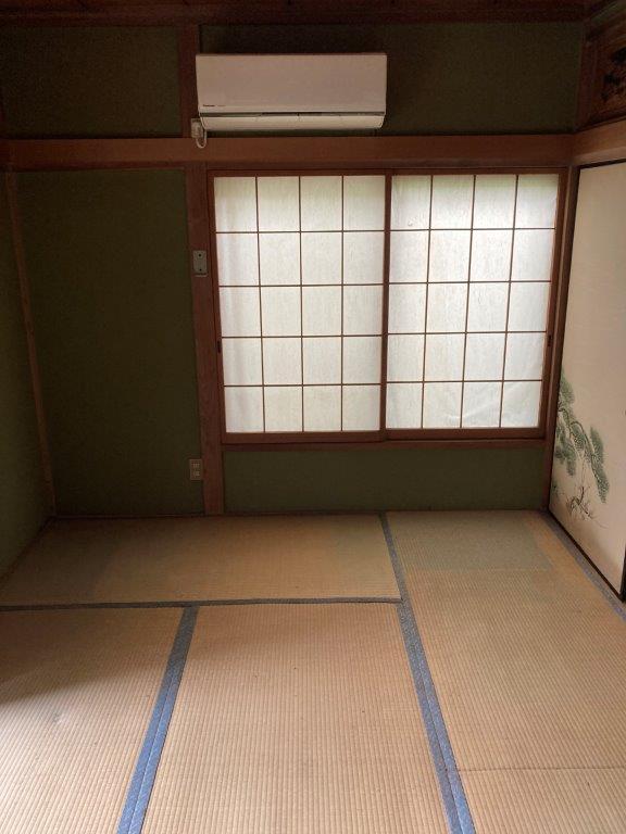 1階和室の片付け後