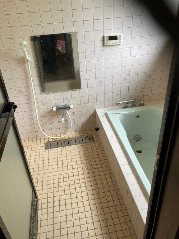 浴室の片付け後
