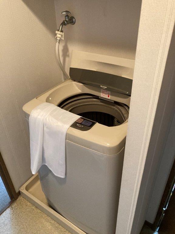 洗面所の片付け前