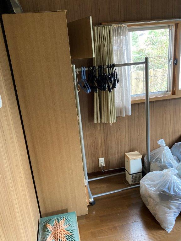 和室(1階)の片付け前