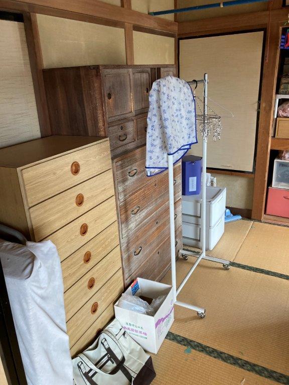 和室(2階)の片付け前