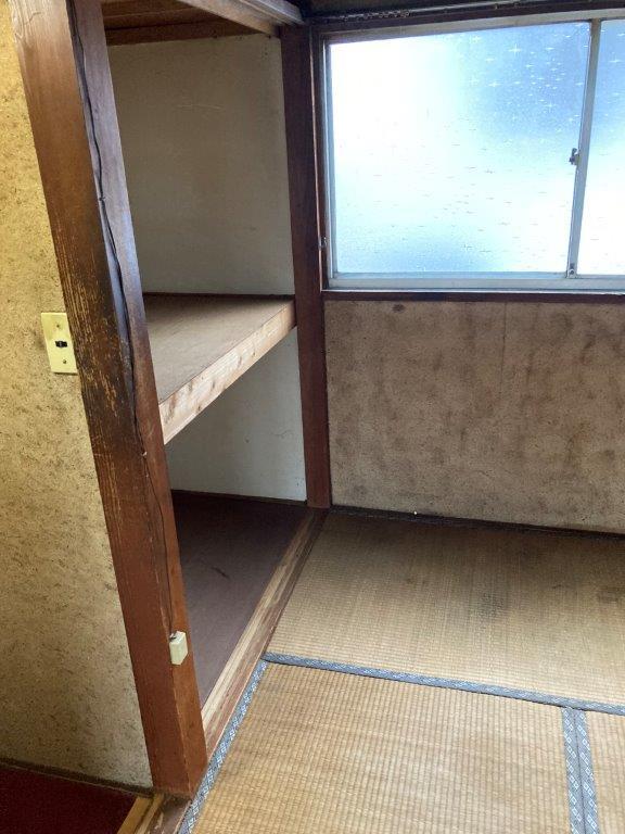 1階 和室の片付け後