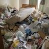 ゴミ屋敷 片付け前の画像